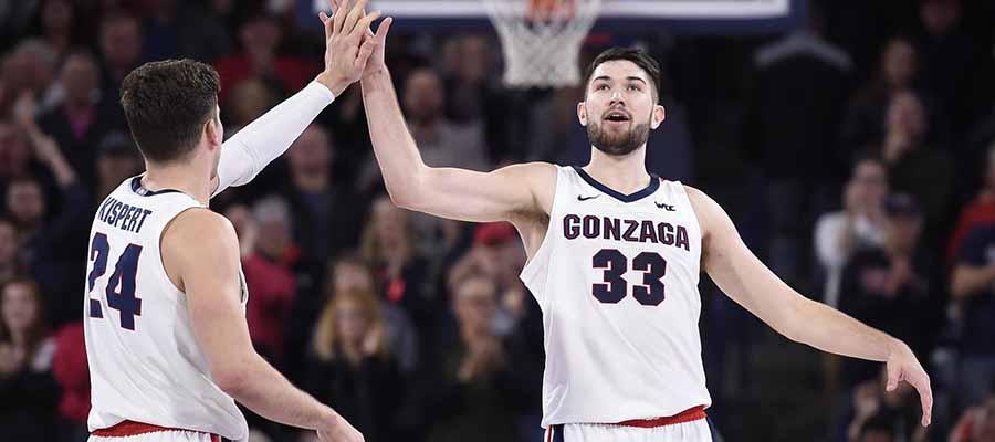 #1 Gonzaga vs BYU