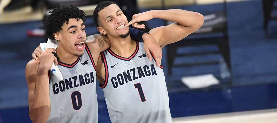 #1 Gonzaga vs San Diego