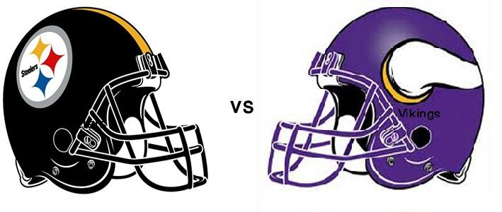 Pittsburgh Steelers take on the Minnesota Vikings