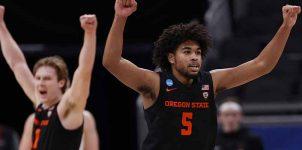 #12 Oregon State vs #2 Houston NCAA Tournament Elite Eight