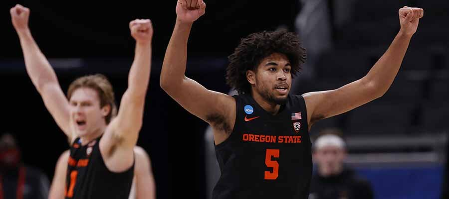 #12 Oregon State vs #2 Houston NCAA Tournament Elite Eight