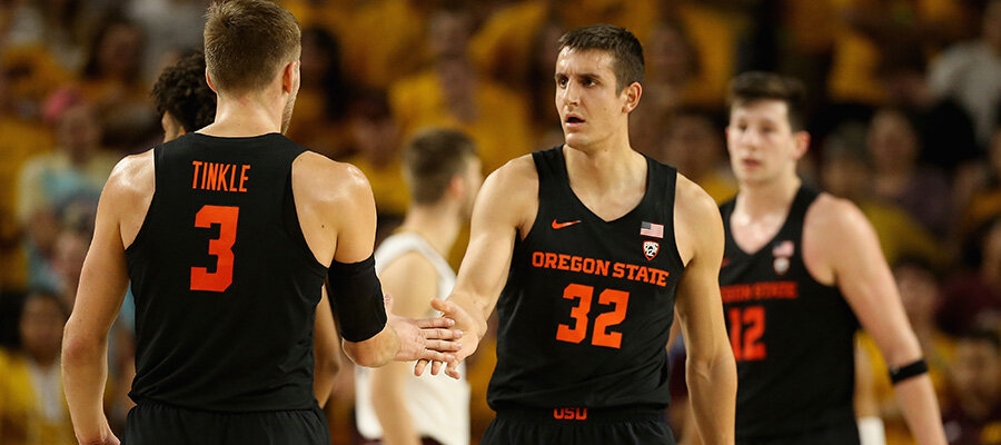 #12 Oregon State vs. #8 Loyola (Chicago)