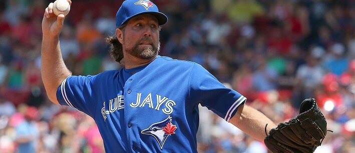 R.A. Dickey - MLB Betting Insight: Should R.A. Dickey Throw Even More Knuckleballs?