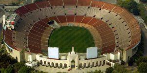 Memorial Coliseum in Los Angeles