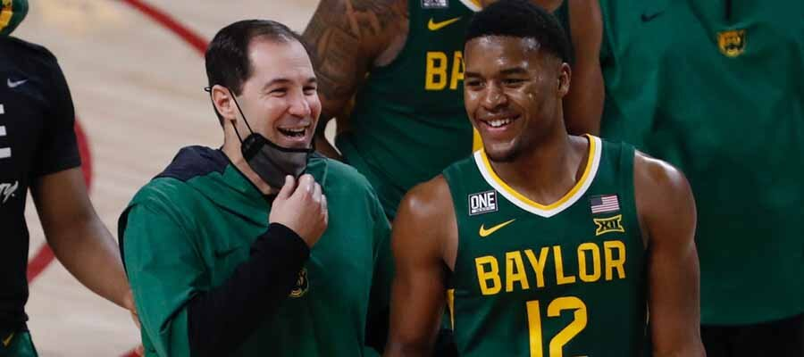 #2 Baylor vs #10 West Virginia Road to March Madness