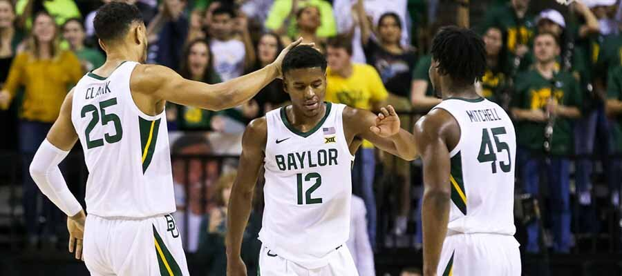 #2 Baylor vs #17 Kansas Road to March Madness
