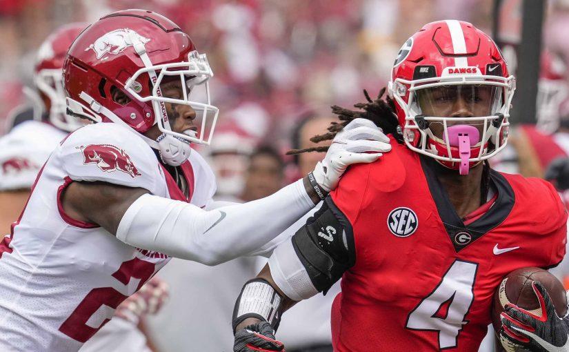 #2 Georgia vs #18 Auburn