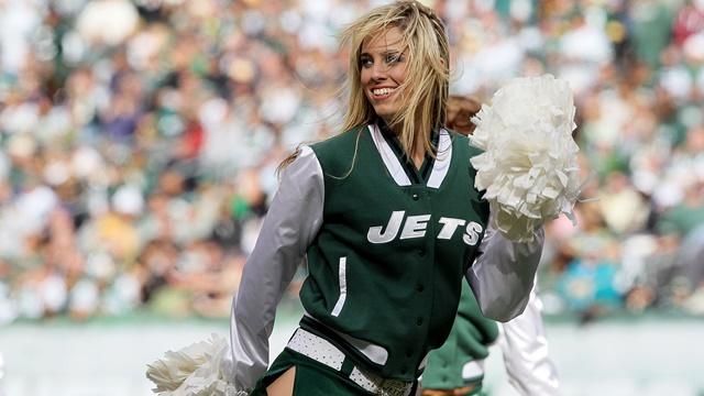 Jets-Cheerleader pics