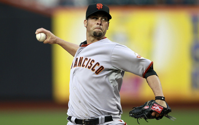 Ryan Vogelsong - MLB World Series Betting Odds: Giants Look to Even Series in Game 4