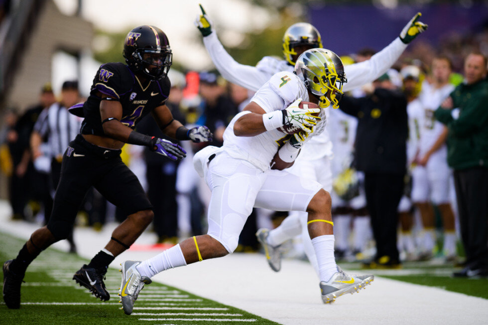 washington vs oregon college football