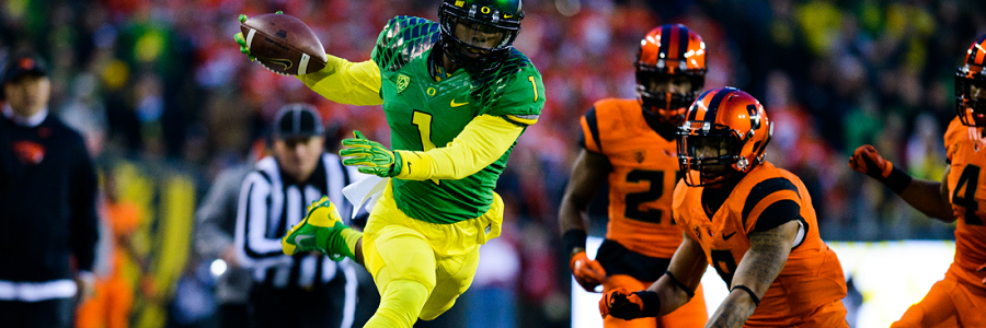 Oregon @ Oregon State NCAA Football Betting Preview