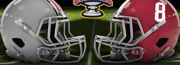 Ohio State vs Alabama football