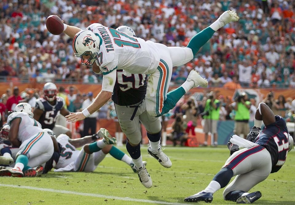 Miami Dolphins vs Patriots NFL betting odds