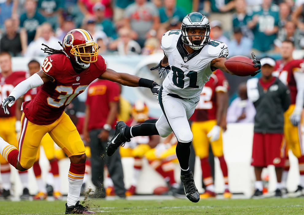 Eagles vs Redskins nfl