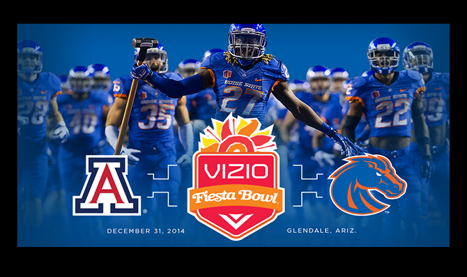 Boise State vs. Arizona 2015 Fiesta Bowl Lines Preview