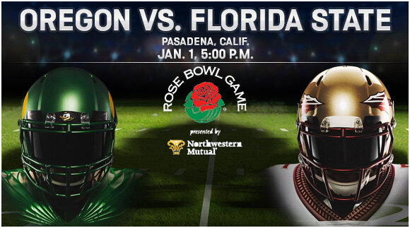 Oregon vs. FSU 2014 Rose Bowl Betting Preview
