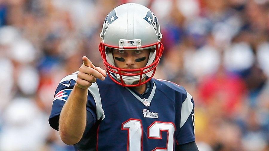 2015 New England Patriots Tom Brady