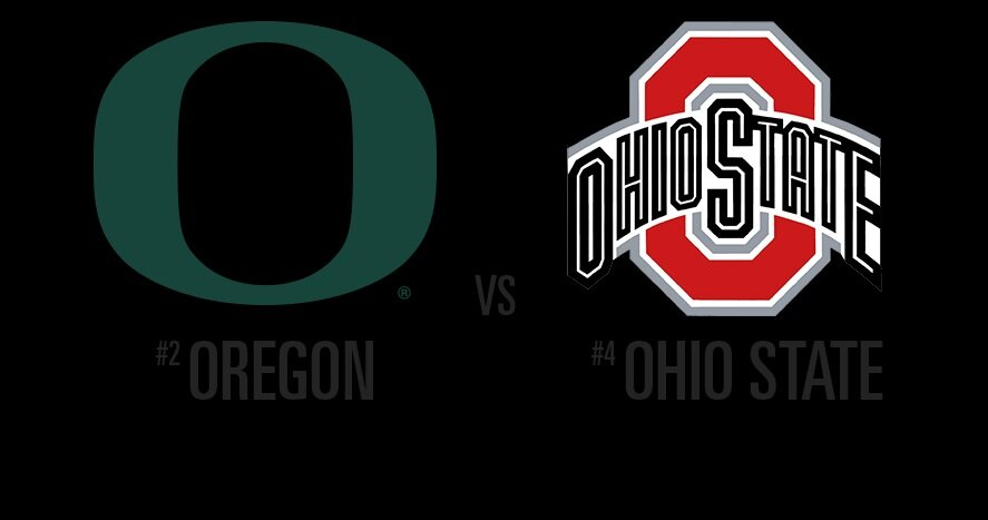Oregon vs Ohio State ncaaf