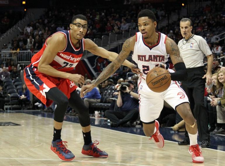 Wizards vs Hawks