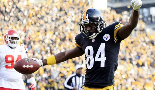 Antonio Brown Steelers