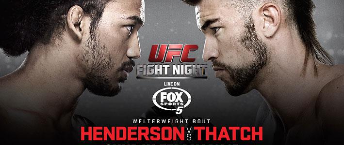 ufc fight night 60 betting odds