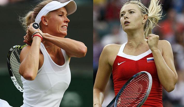 Maria-Sharapova-Caroline-Wozniacki