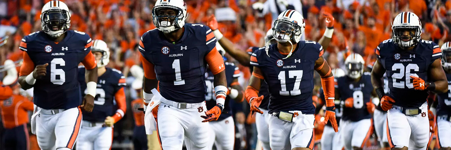 Auburn Must See NCAA Football Odds Games for 2015