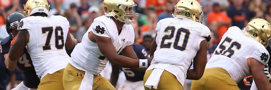 Notre Dame vs. Georgia Tech NCAA Football Odds Guide