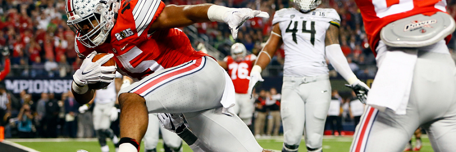 Ohio State vs. NIU NCAA Football Betting Preview