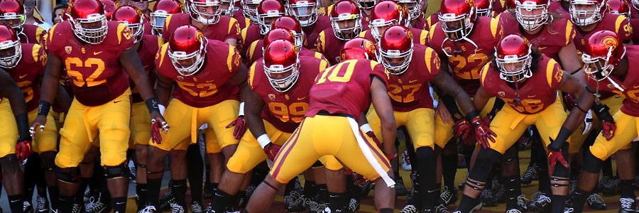 USC Dominates the College Football Odds Against California