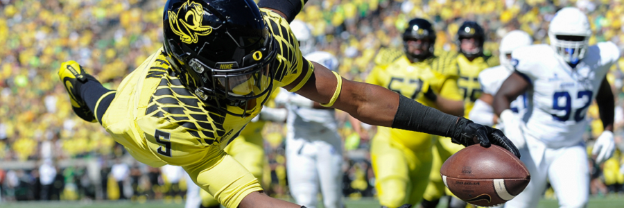 Oregon @ Colorado NCAA Football Odds Preview
