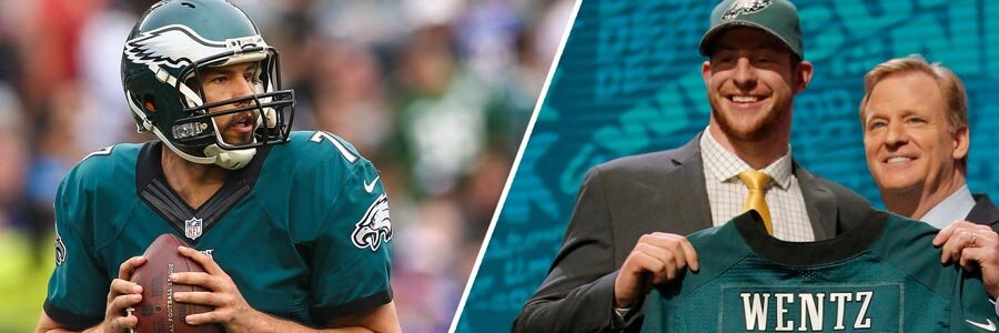 Who Has the Best NFL Odds To Be Starting QB for the Eagles?
