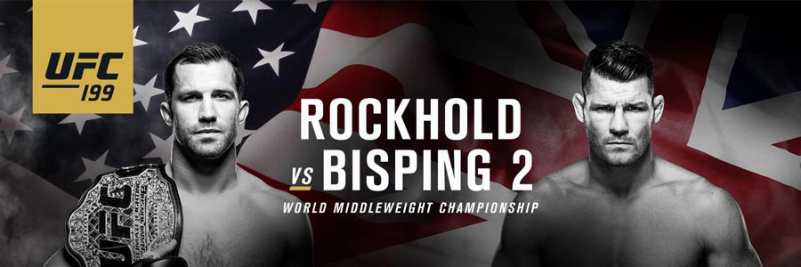 UFC 199 Rockhold vs. Bisping 2 Fight Betting Preview