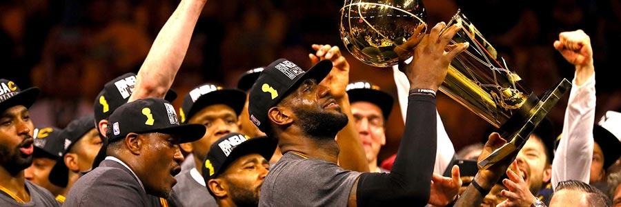 2017 NBA Championship Betting Odds