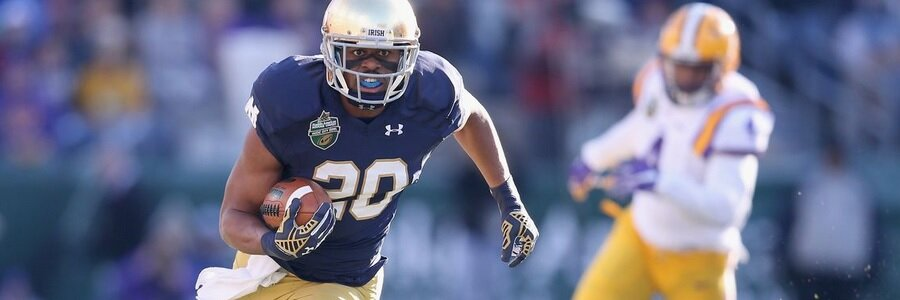 Michigan State at Notre Dame Betting Odds & Free Pick