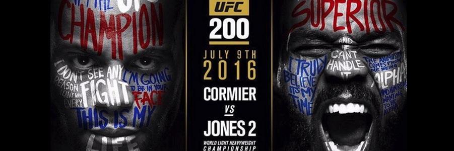 UFC 200 Odds Daniel Cormier vs Jon Jones Betting Lines