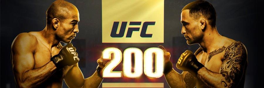 UFC 200 Lines & Free MMA Pick on Aldo vs. Edgar
