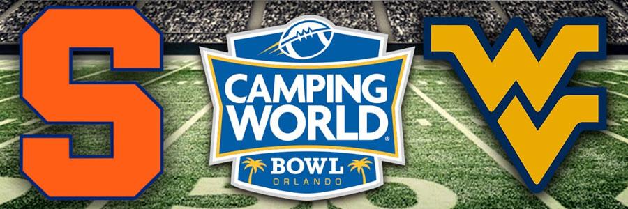 West Virginia vs Syracuse 2018 Camping World Bowl Odds & Analysis