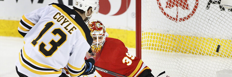 2020 Flames vs Bruins NHL Odds, Preview, and Pick
