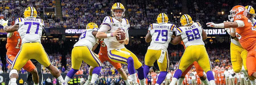 2020 NFL Draft Odds More 1st Round Picks AAC, Pac-12, Big 12, LSU & Alabama