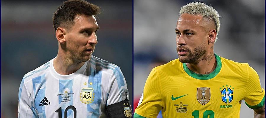 2021 Copa America Final Betting: Argentina vs Brazil Odds