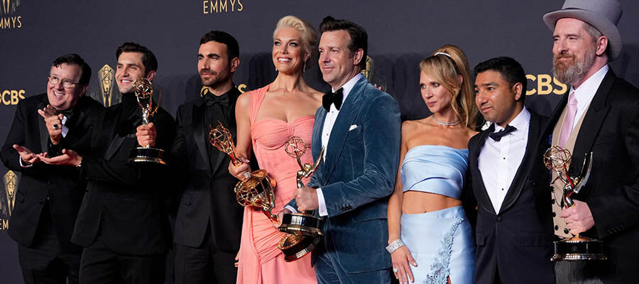 2021 Emmy Awards Betting Recap: Ted Lasso and The Crown Dominate