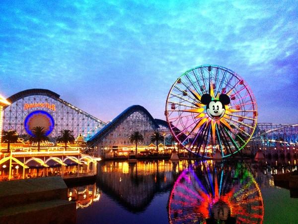 Disney land on super bowl sunday