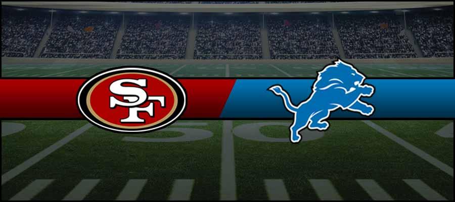 49ers vs Lions Result NFL Score