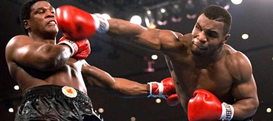 5 of Mike Tyson's Top Wins Thought His Career - Boxing Lines