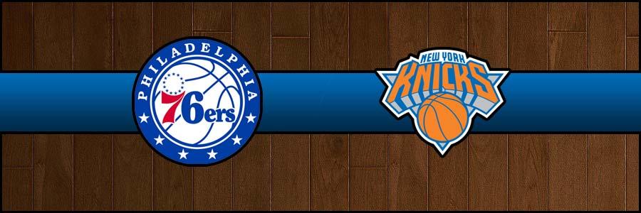 76ers vs Knicks Result Basketball Score