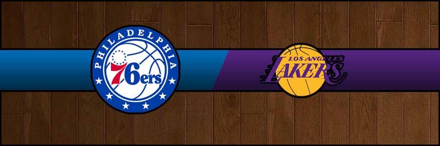 76ers vs Lakers Result Basketball Score