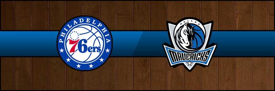 76ers vs Mavericks Result Basketball Score