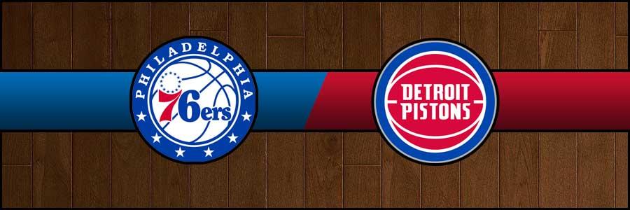 76ers vs Pistons Result Basketball Score