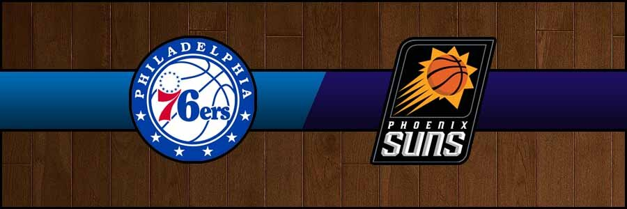 76ers vs Suns Result Monday Basketball Score